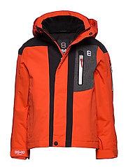Aragon JR Jacket - RED CLAY