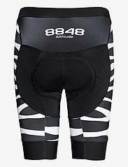 8848 Altitude - Coca 2.0 W Bike Shor - cycling shorts & tights - zebra black - 1