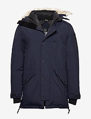 8848 Altitude - Imperial Down Parka - kurtki puchowe - navy - 0