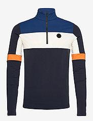 8848 Altitude - Gavio 1/2 Zip - basic sweatshirts - navy - 0