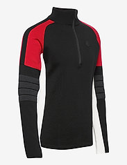 8848 Altitude - Trysil Sweat - half zip - black - 2
