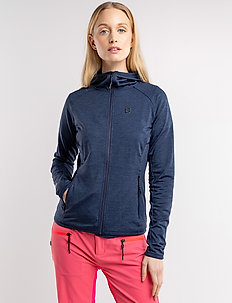 Peach W Sweat - mid layer jackets - navy