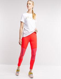 Athina W Tights - running & training tights - magenta
