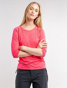 Madina W Tee - t-shirts - magenta