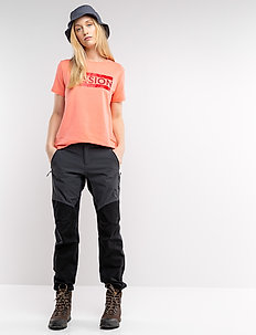 Mission W Pant - outdoor pants - charcoal