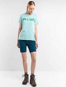Ava W Shorts - outdoor shorts - reflecting pond