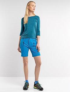 Ava W Shorts - outdoor shorts - turqouise
