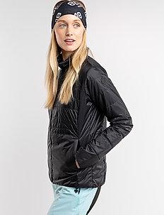 Mya W Jacket - insulated jackets - black