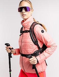 Mya W Jacket - insulated jackets - coral