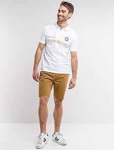 Lugano Shorts - outdoor shorts - dull gold