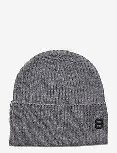 Runde Beanie - czapka - lt grey melange
