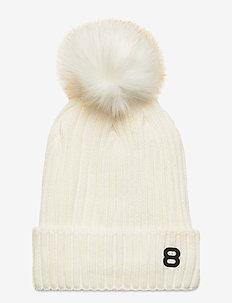 Cupcake Beanie - luer - blanc