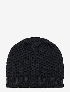 Fishbone Beanie - hats - navy