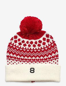 Isle Beanie - kapelusze - red