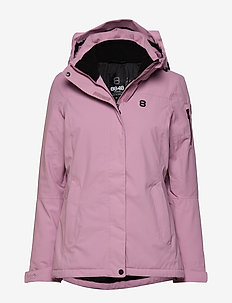 Ebba W Jacket - ski jackets - rose