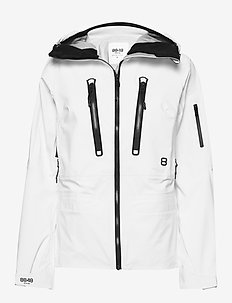 Pow W Jacket - shell jackets - blanc