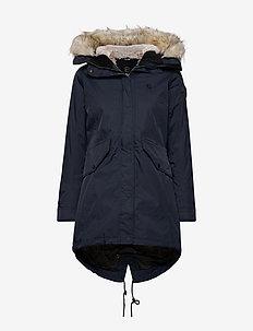 Amiata W Parka - down jackets - navy