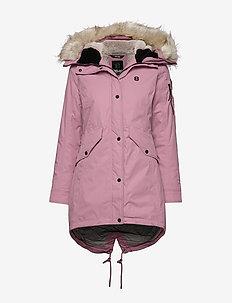 Amiata W Parka - down jackets - rose