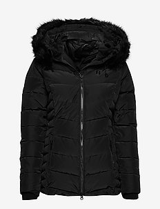 Joline W Jacket - daunenjacken - black