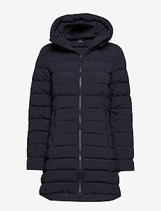 Arabella W Coat - dunjackor - navy