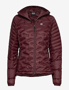 Lara W Liner - down jackets - amarone