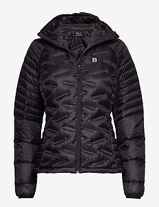 Lara W Liner - down jackets - black
