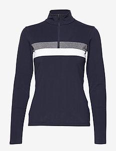 Lexie W Sweat - mid layer jackets - navy