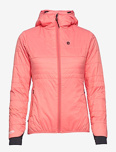 Theresia W Primaloft - insulated jackets - coral