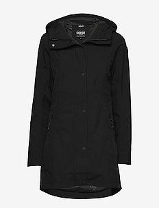 Scarlett W Jacket - outdoor & rain jackets - black