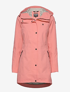 Scarlett W Jacket - outdoor & rain jackets - coral