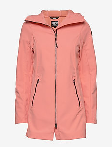Zoe W Jacket - outdoor & rain jackets - coral