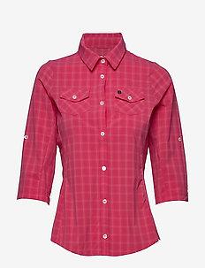 Swanson W Shirt - kortermede skjorter - magenta