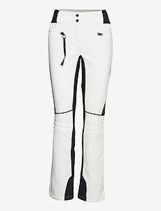Adela W Pant - skiing pants - blanc