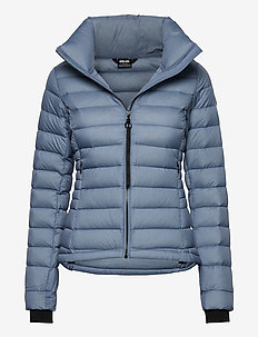 Savannah W Jacket - down jackets - blue shadow