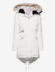 Jinny W Parka - insulated jackets - blanc