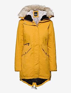 Jinny W Parka - insulated jackets - mustard