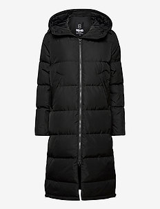 Biella W Coat - down jackets - black