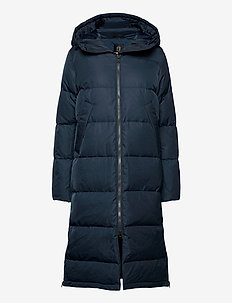 Biella W Coat - down jackets - navy