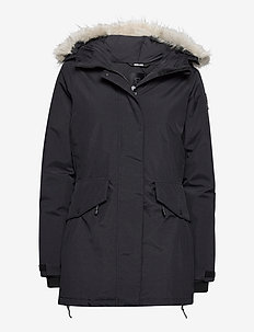 Derica W Parka - down jackets - black