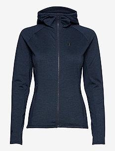 Peach W Hoodie - outdoor & rain jackets - navy