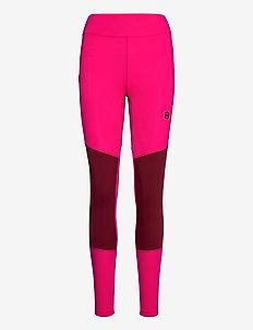 Athina W Tights - running & training tights - raspberry