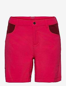 Piper W Shorts - udendørsshorts - raspberry