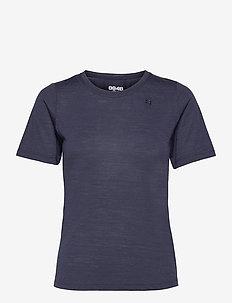 Twig W Tee - t-shirts - indigo