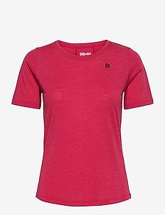 Twig W Tee - t-shirts - raspberry