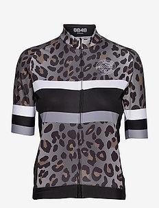 Valentine W Bike Jer - t-shirts - leopard