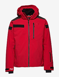 Aston Jacket - insulated jackets - red
