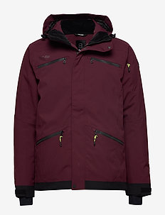 Fairbank Jacket - ski jackets - amarone