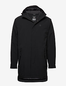 Heat Grip Coat - insulated jackets - black