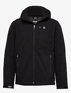 Padore Softshell Jac - softshell jackets - black