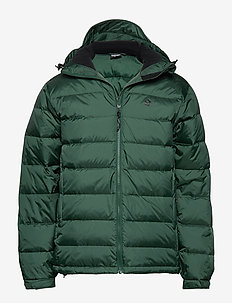 Edzo Down Jacket - down jackets - goodwood green